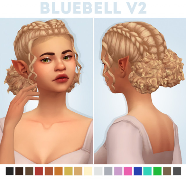Bluebell Hair v2 by Naevys-Sims