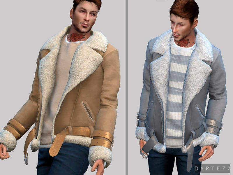Shearling Jacket (Male) by Darte77