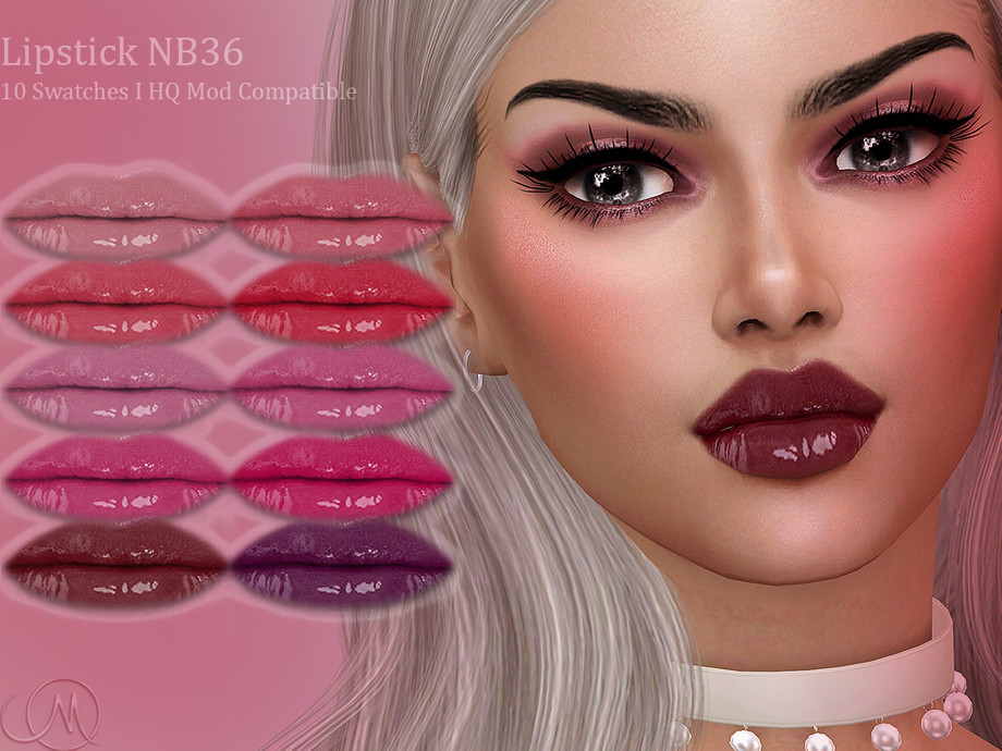 Lipstick NB36 by MSQSIMS