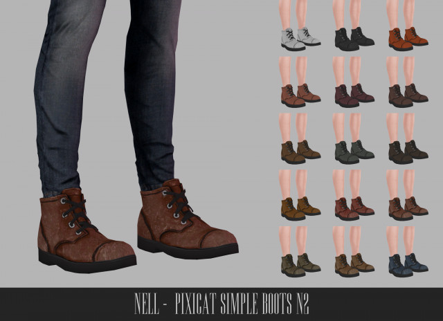Pixicat Simple Boots N2 by Nell-le