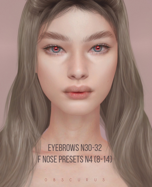 Eyebrows_and_nose_presets by Obscurus