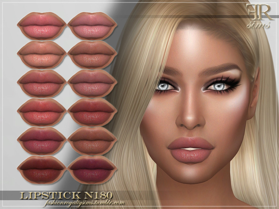 FRS Lipstick N180 by FashionRoyaltySims