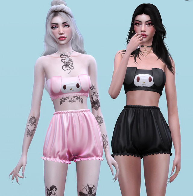 KAWAII PAJAMA SET by Korka-Sims