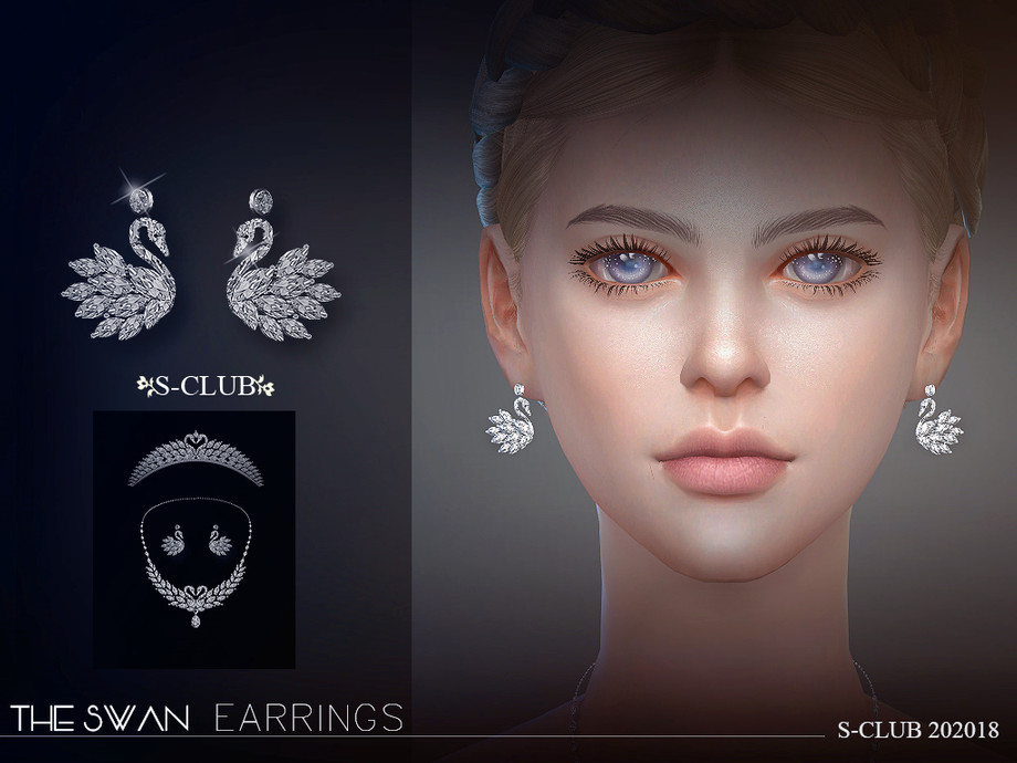 S-Club ts4 LL EARRINGS 202018