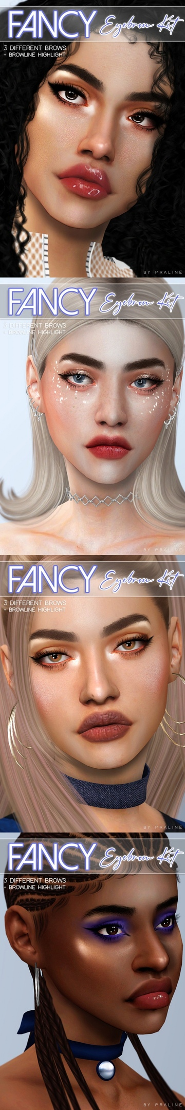 FANCY Eyebrow Kit by Pralinesims