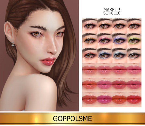 Makeup_set_cc16 by GoppolsMe