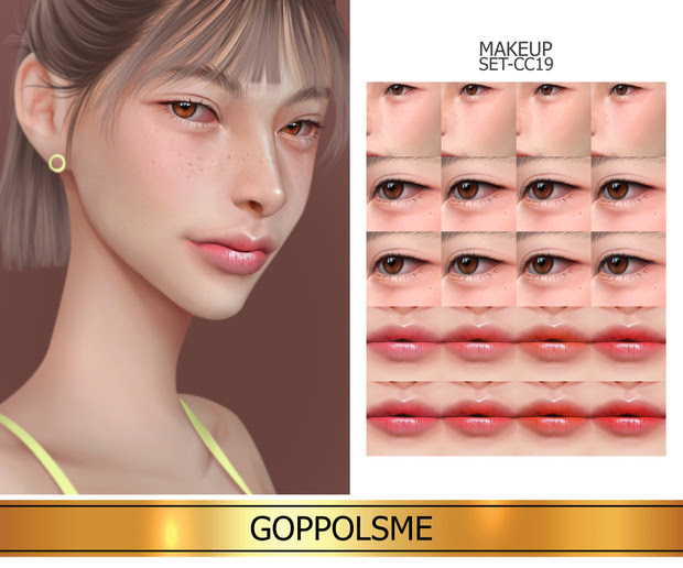 Makeup_set_cc19 by GoppolsMe