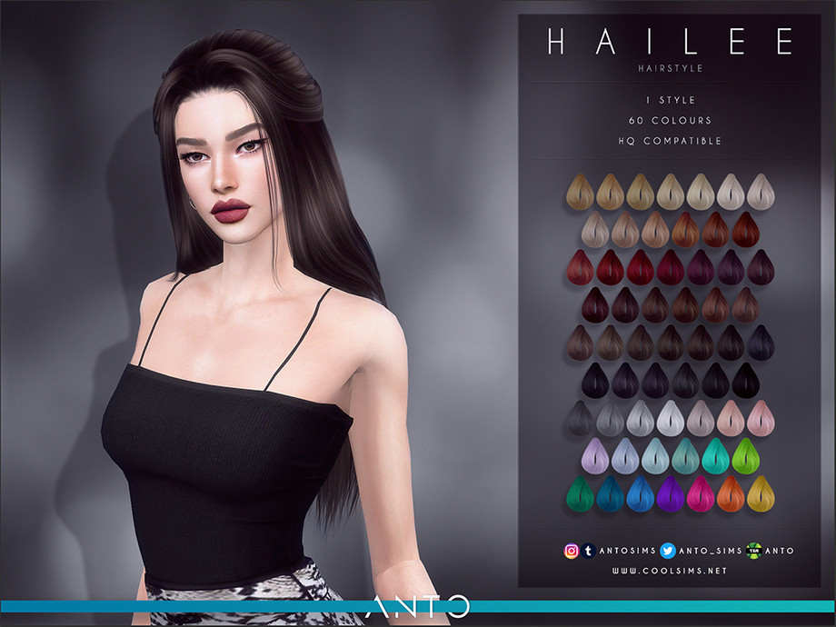 Anto - Hailee Hairstyle