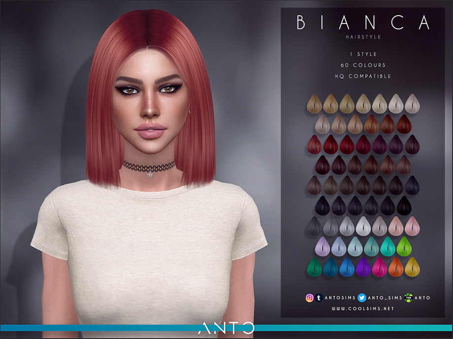 Anto - Bianca Hairstyle