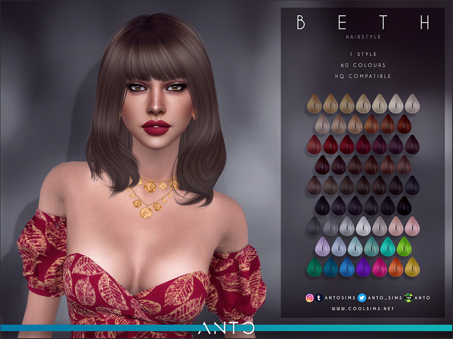 Anto - Beth Hairstyle