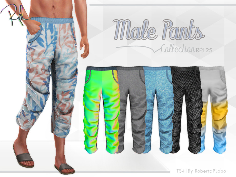 M PANTS COLLECTION RPL25 by RobertaPLobo
