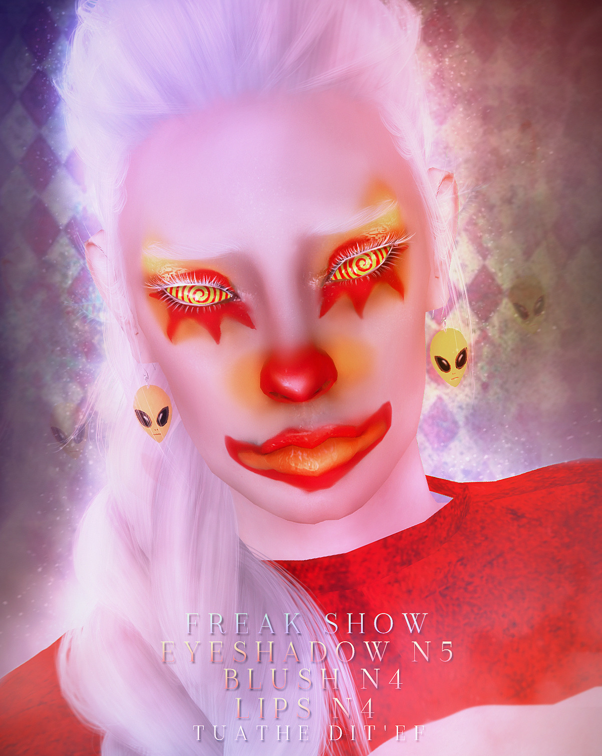 MAKEUP SET N5  «FREAK SHOW» COLLECTION by tuathe dit'ef