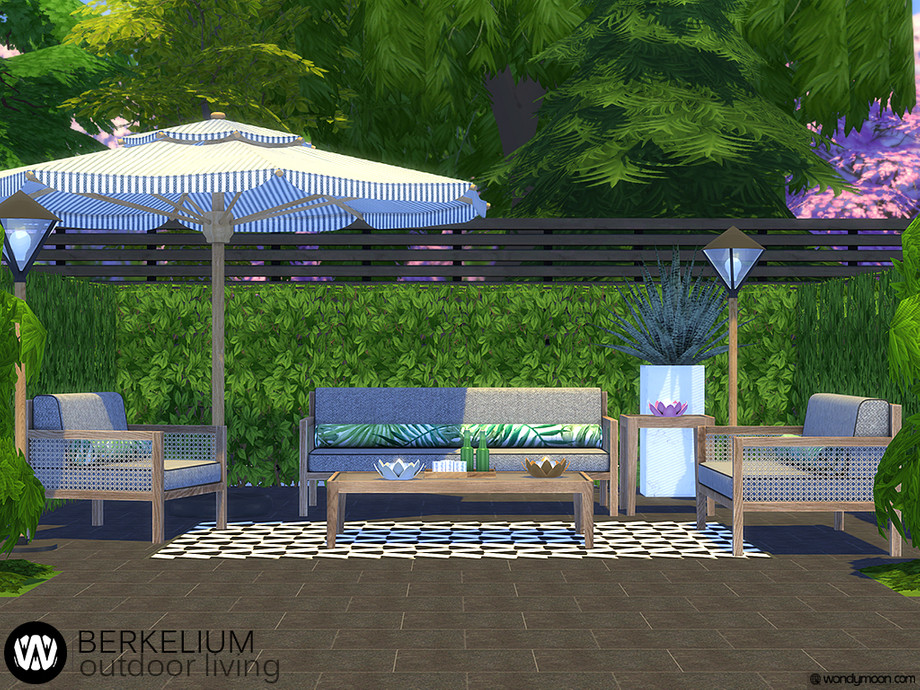 Berkelium Outdoor Living by wondymoon