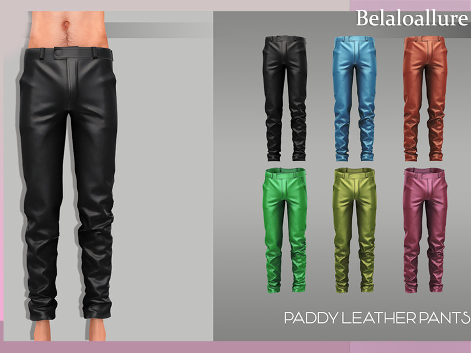 paddy leather pants by belal1997