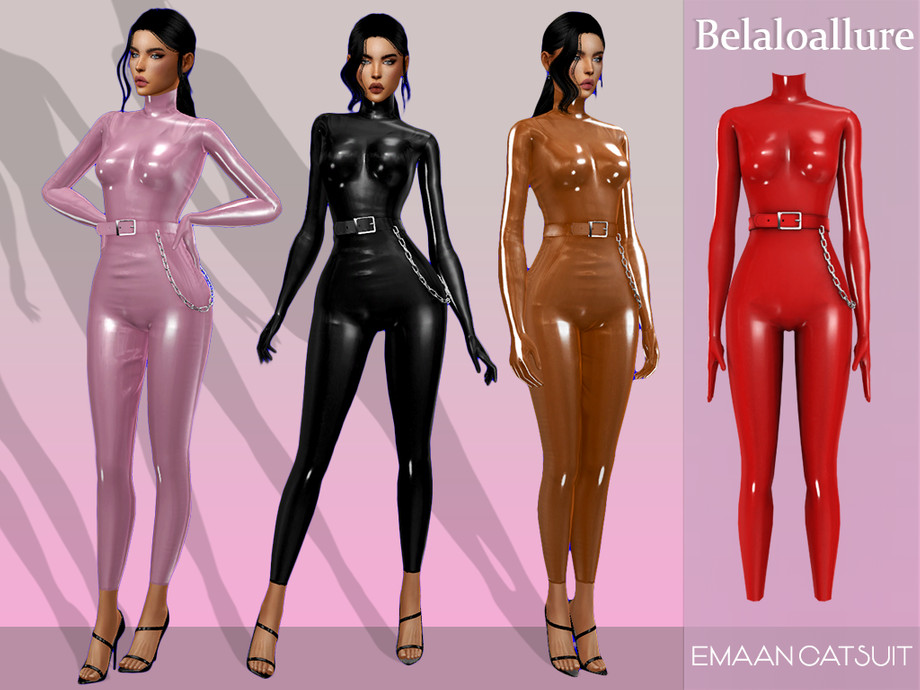Emaan catsuit by belal1997