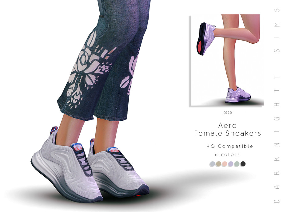 Aero Female Sneakers by DarkNighTt