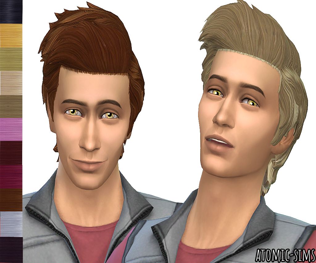 My stuff origin Alex hair Peggyed v2 retexture