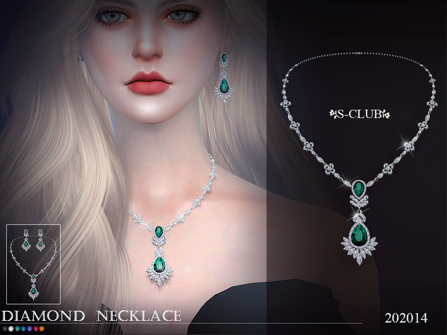 S-Club ts4 LL Necklace 202014