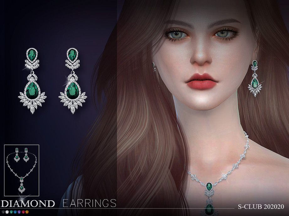 S-Club ts4 LL EARRINGS 202020