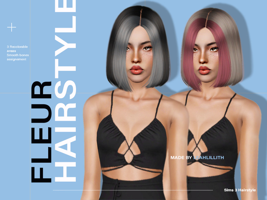 Fleur Hairstyle by Leah Lillith
