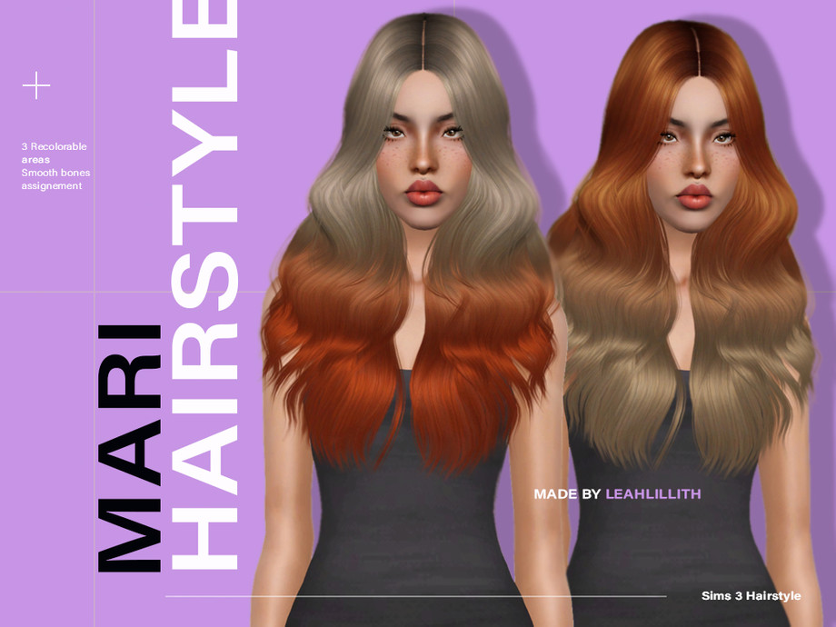 Mari Hairstyle by Leah Lillith