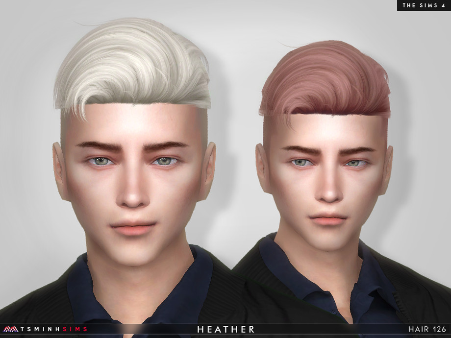 Heather ( Hair 126 ) by TsminhSims