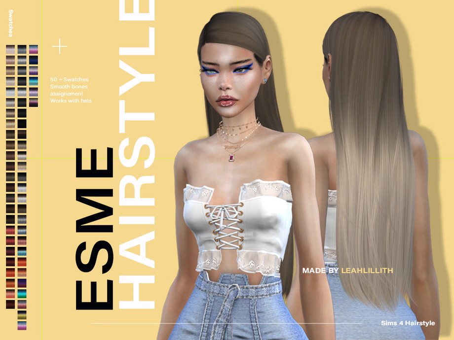 Esme Hairstyle by Leah Lillith