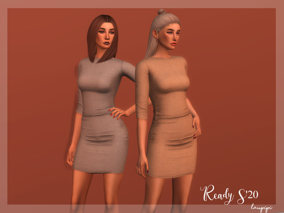 Knit Dress - DR350 by laupipi
