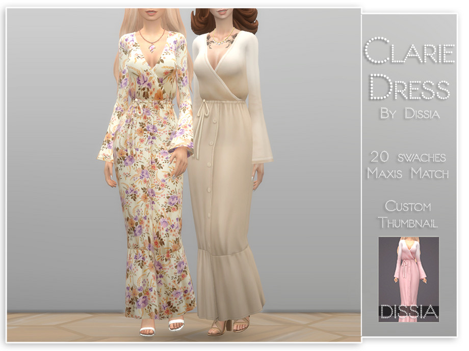 Clarie Dress by Dissia