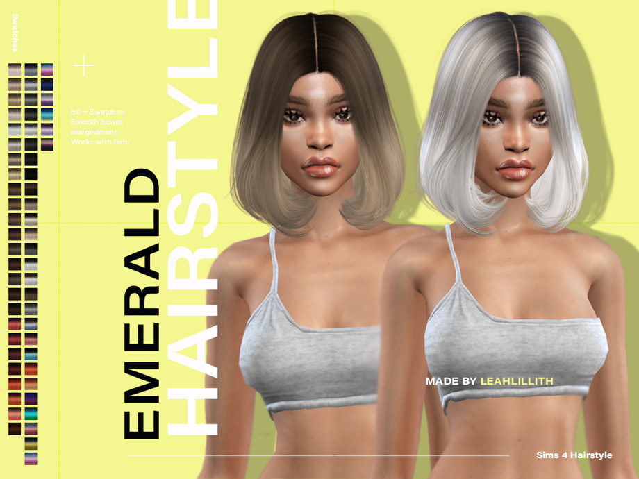 Emerald Hairstyle by Leah Lillith