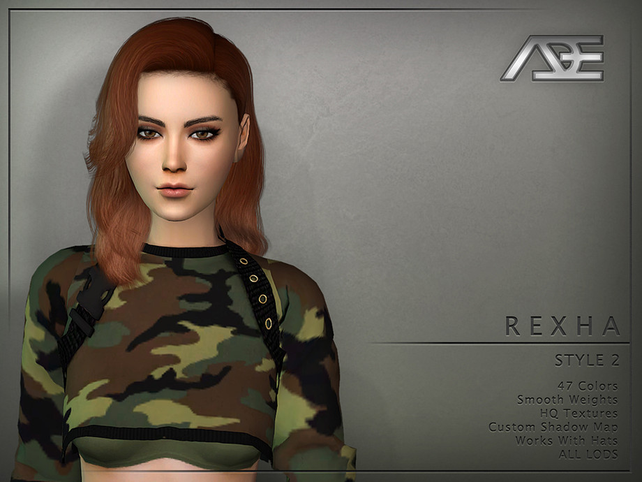 Rexha Style 2 (Hairstyle) by Ade_Darma