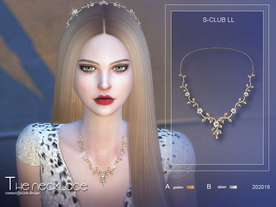 S-Club ts4 LL Necklace 202018