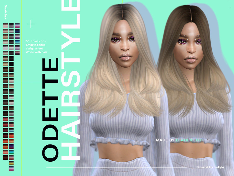 Odette Hairstyle by Leah Lillith