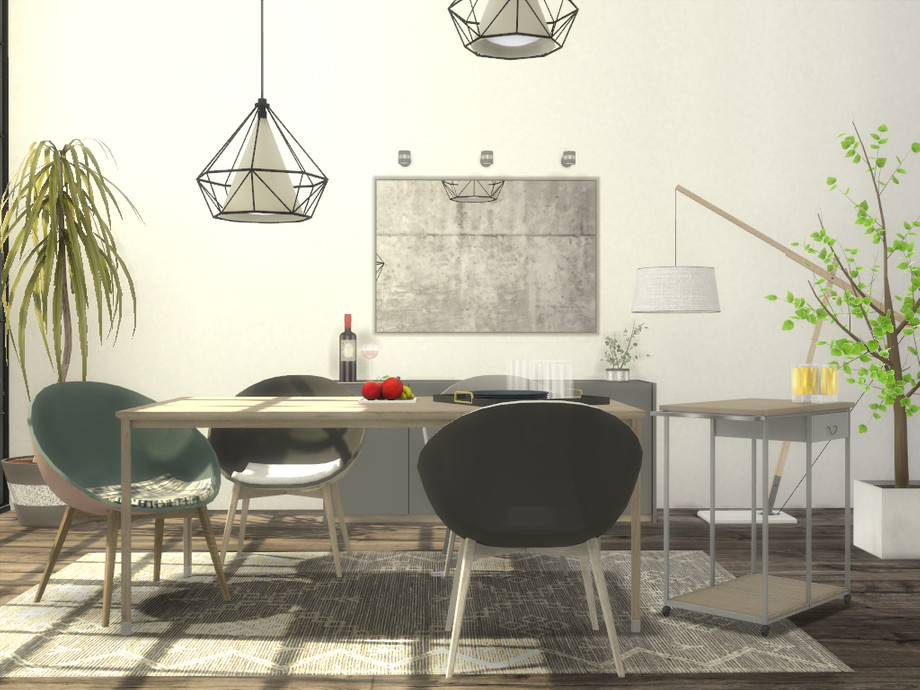 Loren Dining Room by Onyxium