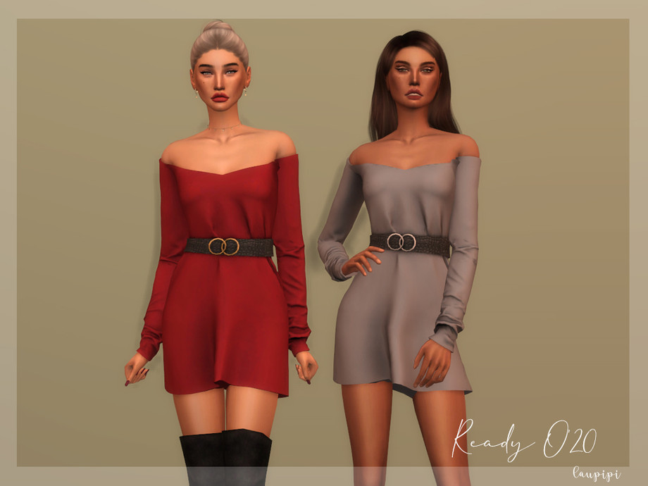 Dress with Belt - DR354 by laupipi