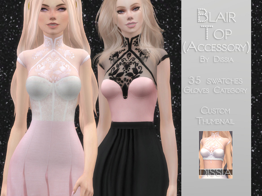Blair Top (Accessory) by Dissia
