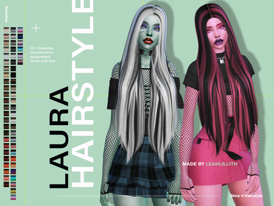Laura Hairstyle by Leah Lillith