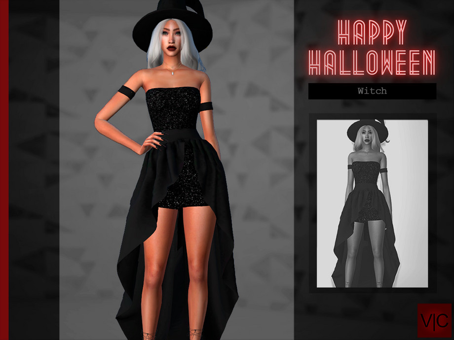 Witch - Halloween VI by Viy Sims