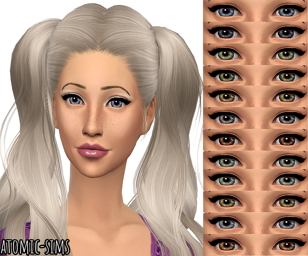 LaPink Cleare eyes conversion by Atomic-sims