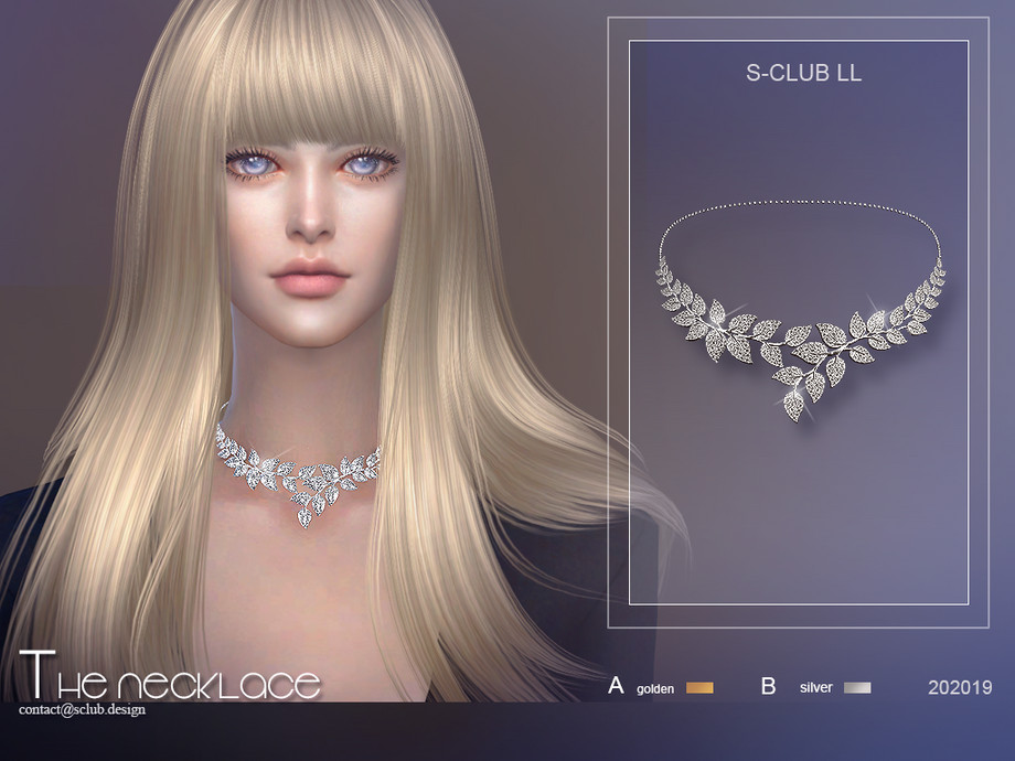 S-Club ts4 LL Necklace 202019