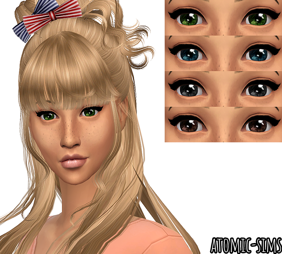 Jeabzilla Blink eyes conversion by Atomic-sims