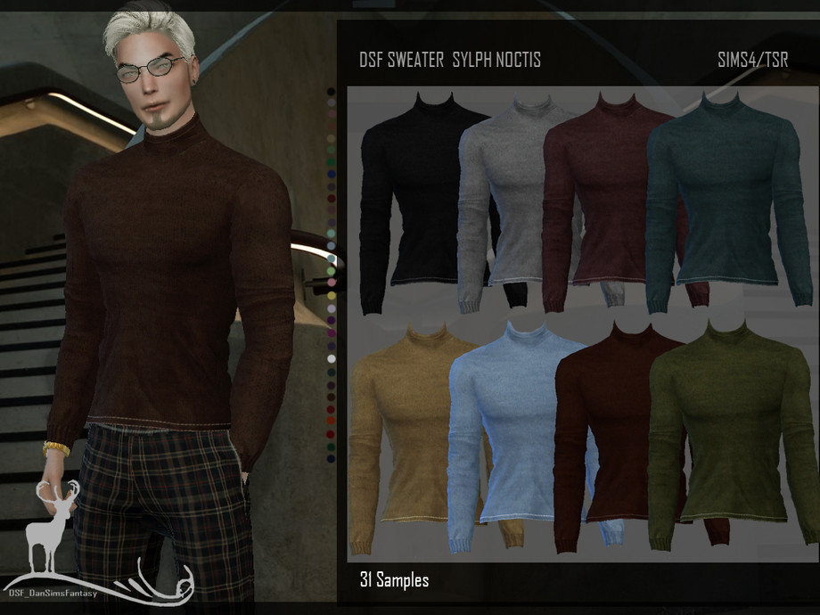 DSF SWEATER SYLPH NOCTIS by DanSimsFantasy