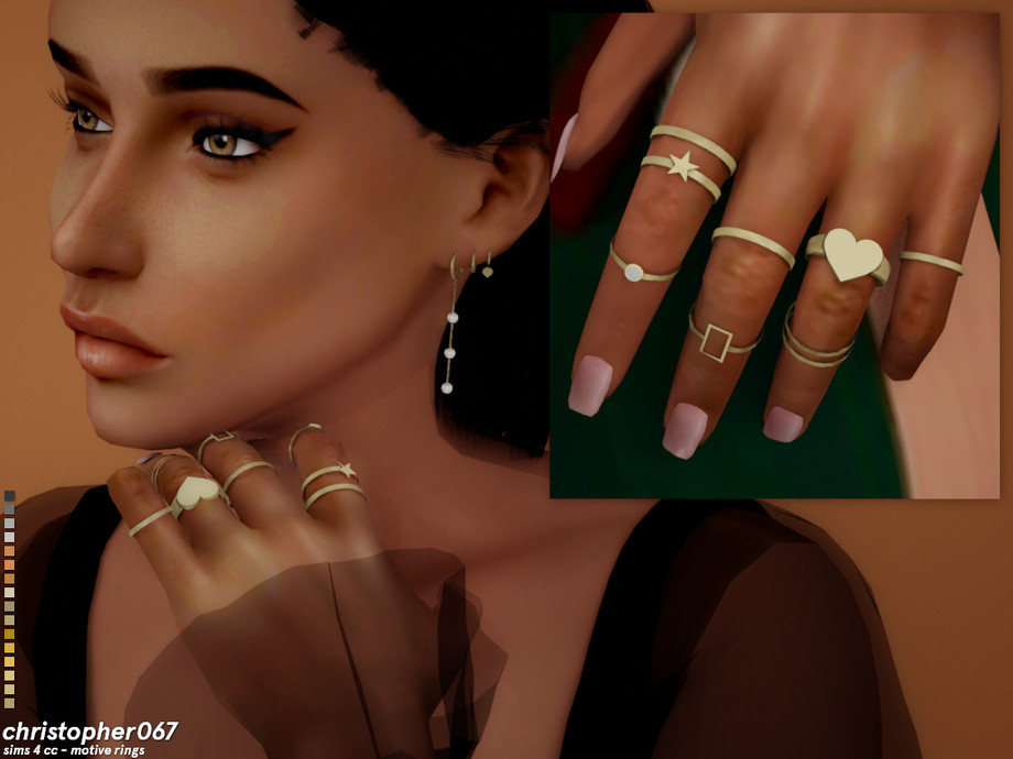 Motive Rings by Christopher067
