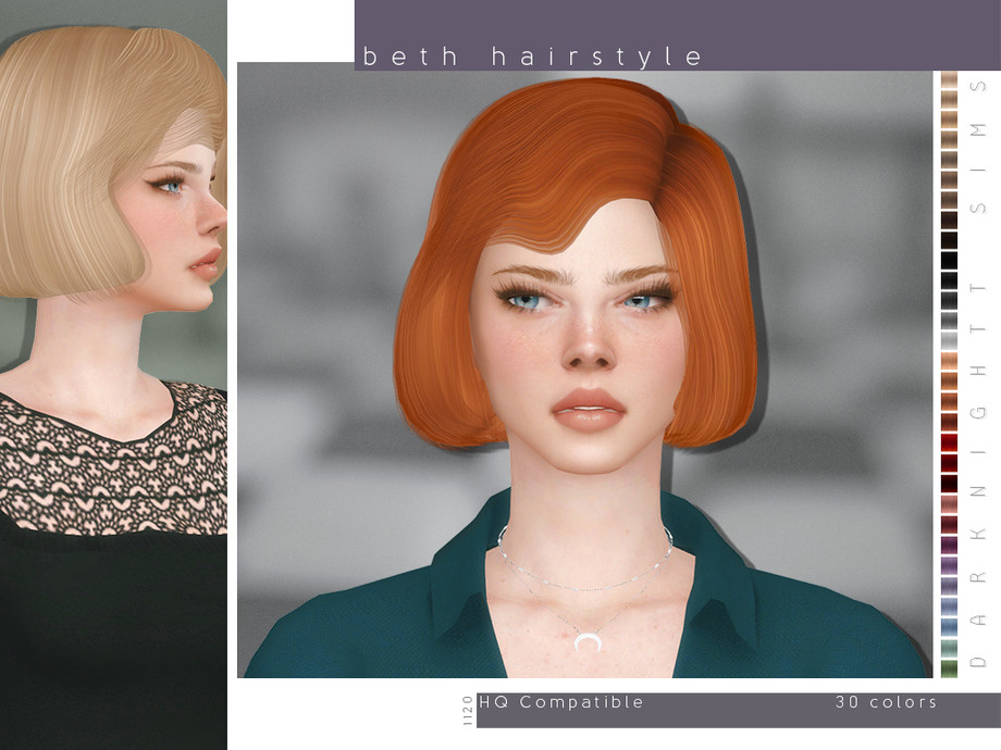 Beth Hairstyle by DarkNighTt