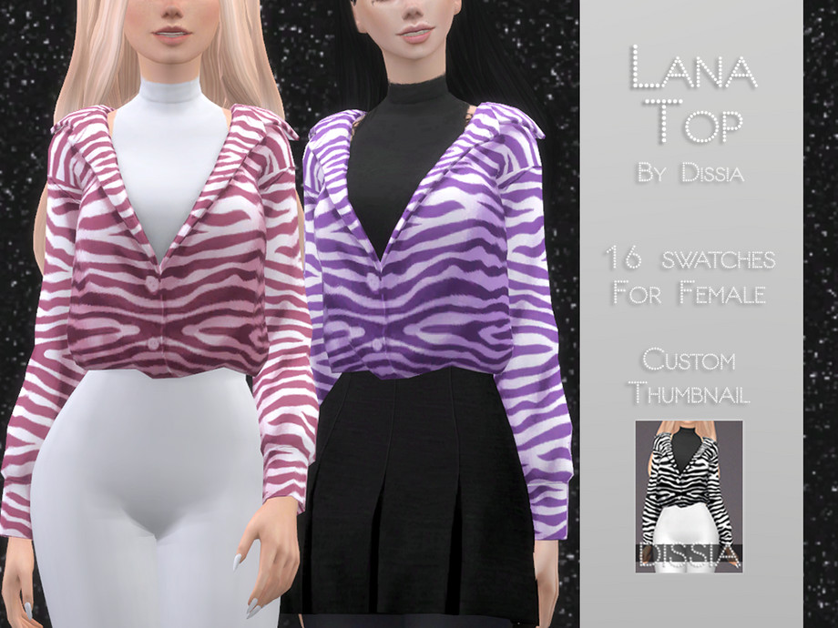 Lana Top by Dissia