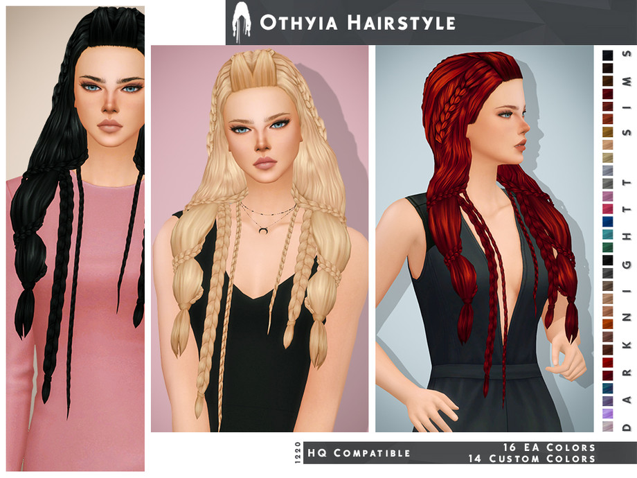 Othyia Hairstyle by DarkNighTt
