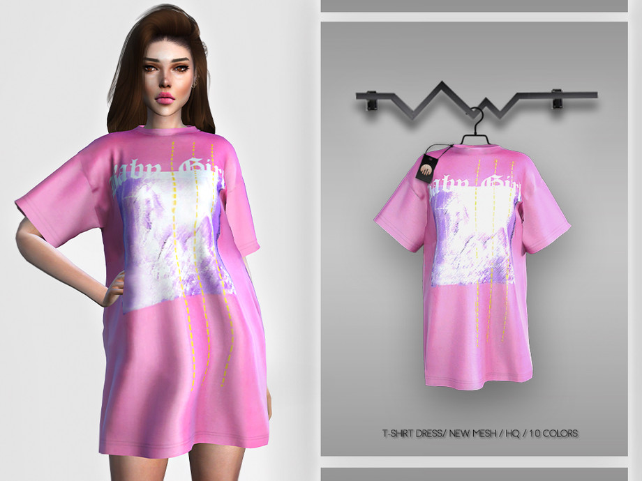T-Shirt Dress BD271 by busra-tr