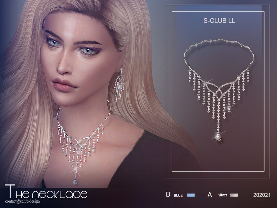 S-Club ts4 LL Necklace 202021