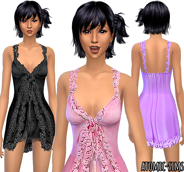 Peggy sims 2 Pay clothes 15 & 16 conversion by Atomic-sims