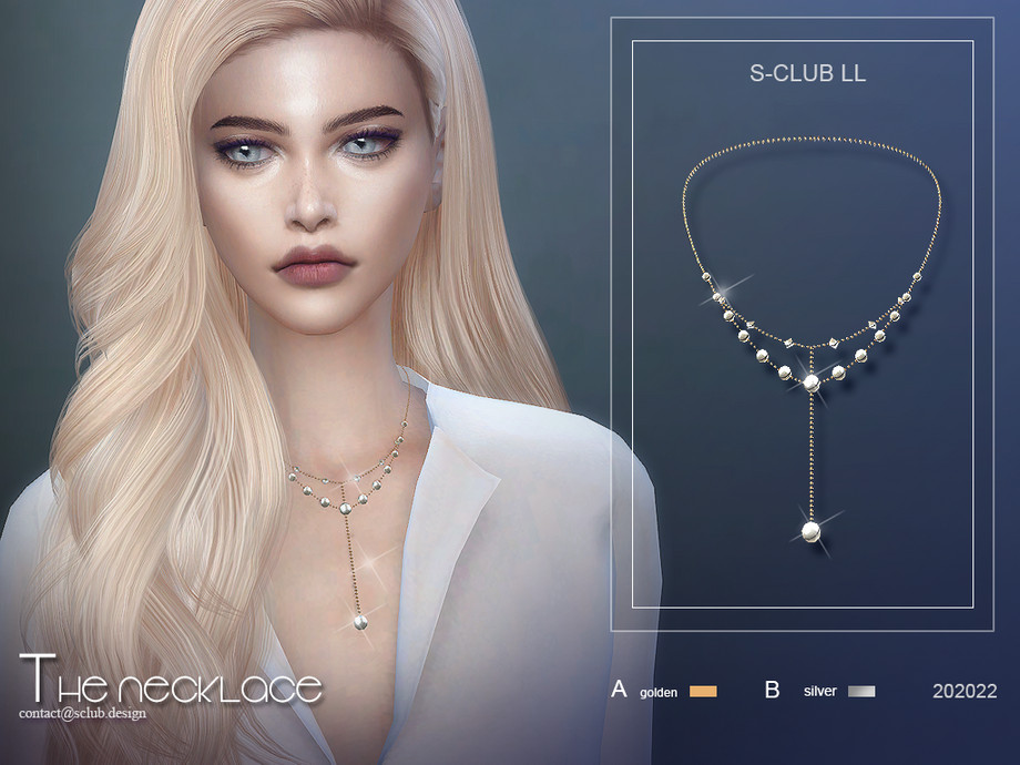 S-Club ts4 LL Necklace 202022